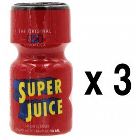 Poppers SUPER JUICE 10mL x3