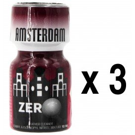 Poppers AMSTERDAM ZERO 10mL x3