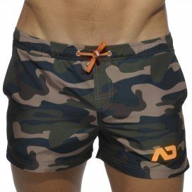 Addicted Short de bain Camouflage Court