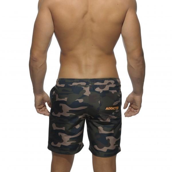 short de bain camouflage long menderwear