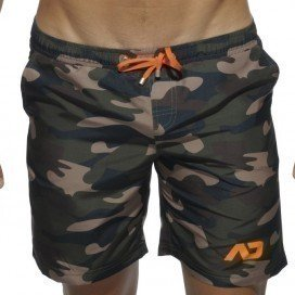 Addicted Short de bain Camouflage Long