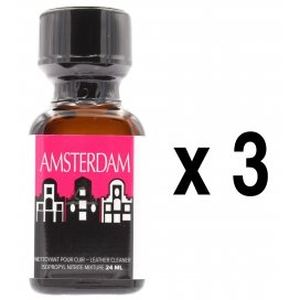 Amsterdam Poppers 24ml x3