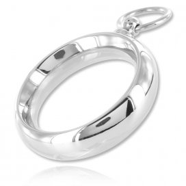 Black Label Cockring The-O Ring 15mm
