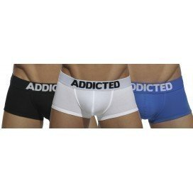 Addicted Pack Basic 3 Boxers