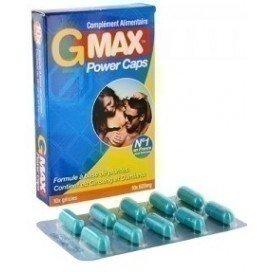 Gold Max: stimulant sexuel homme G Max Power Caps 10 gélules