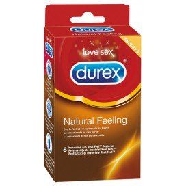 Durex Préservatifs Natural Feeling x8