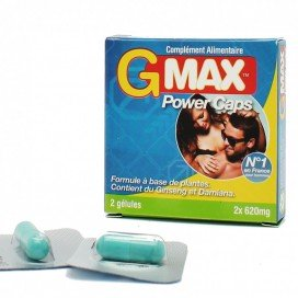G Max Power Caps 2 gélules