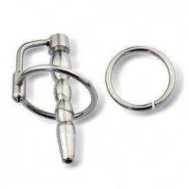Plug percé 10mm avec anneau