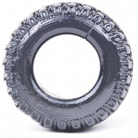 Cockring Stretch Tyre 20mm noir