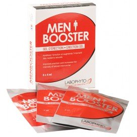 LaboPhyto Gel d'érection Men Booster 6 dosettes
