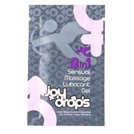 Joy Drops Lubrifiant Sensuel 2 en 1 - Dosette 5 ml