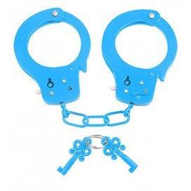 Menottes Neon Bleues à clé