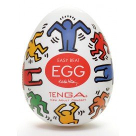 Tenga Egg Dance by Keith Haring