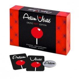 Tease & Please Action ou Verite Erotic Party Edition