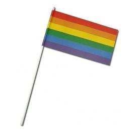 Pride Items Petit Drapeau Arc-en-ciel Papier 24 x 12 cm