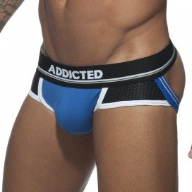 Jockstrap Push Up Sport Bleu