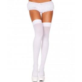 Leg Avenue Bas en nylon - Blancs opaques