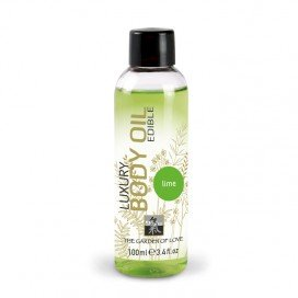 Shiatsu Huile de massage Comestible Citron Vert 100ml