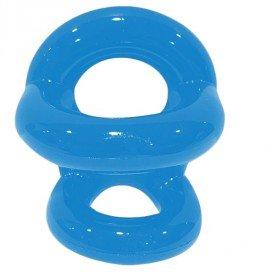 Sport Fucker Ballstretcher Fucker Ring Bleu