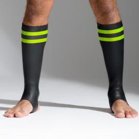 665 Socks en néoprène Bandes vertes