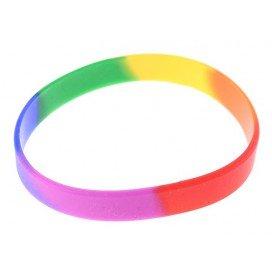 Bracelet Rainbow en silicone