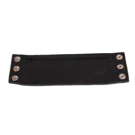 Cockpik Bracelet de Force en cuir avec zip