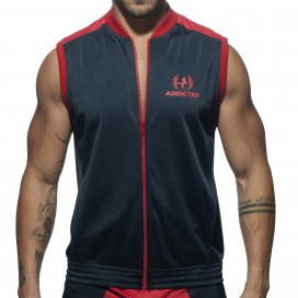 Addicted Veste Horse Marine-Rouge