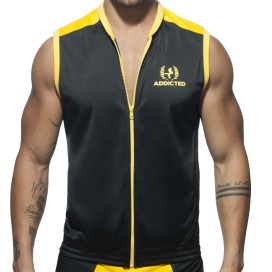Addicted Veste Horse Noire-Jaune