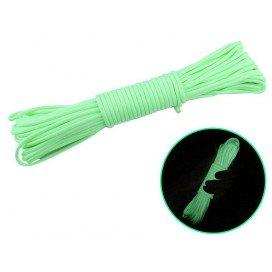 FUKR Corde pour Bondage fine Vert Phosphorescent 7m