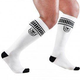 TOF Paris Chaussettes Football Socks Blanches