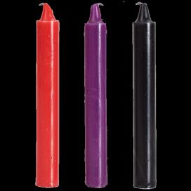 Doc Johnson Bougies colorées x3