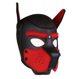 FUKR Cagoule néoprène pour puppy Rouge