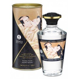 Huile de massage Chauffante Aphrodisiaque - VANILLE Fétiche 100 ml