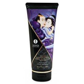 Shunga Crème de massage Comestible FRUITS EXOTIQUES - 200ml