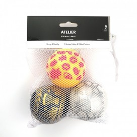 Linx Lot de 3 masturbateurs STROKER BALL Atelier