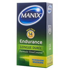Manix Préservatifs Endurance x14