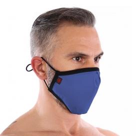 Masque lavable sans couture FASHION Bleu