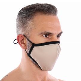 Masque lavable sans couture FASHION Beige