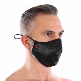 Masque lavable FETISH Noir
