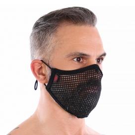 Sur-masque lavable Mesh Noir