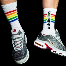 "Addiction addiction Socks ""Pride"""