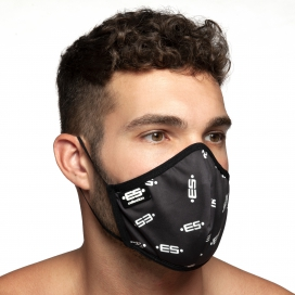 Masque en tissu ES Noir