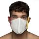 Masque en tissu Barcelona Blanc