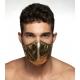 Masque en tissu Party Gold