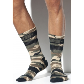 ES Collection Chaussettes CAMO SOCKS Camouflage Army