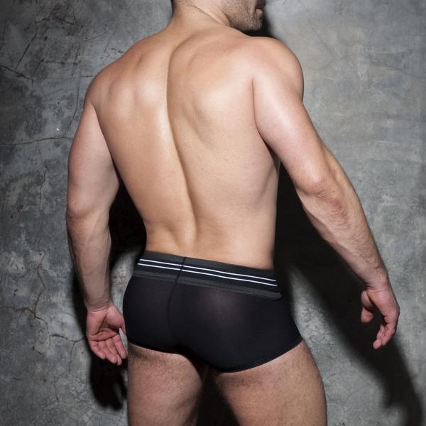 Boxer DOUBLE STRIPE Noir-Blanc