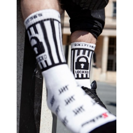 Sk8erboy Chaussettes blanches LOCKED Sk8erboy