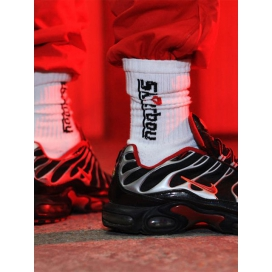 Sk8erboy Chaussettes blanches CREW SOCKS Sk8erboy