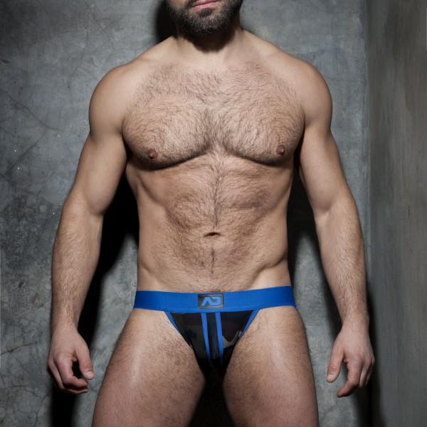 Jockstrap Camo Stripe Fetish Bleu