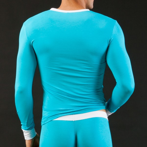 T-shirt Thermo Modal Turquoise